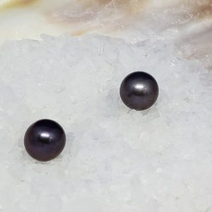 Freshwater Cultured Pearl 6.5 mm Purple Undrilled